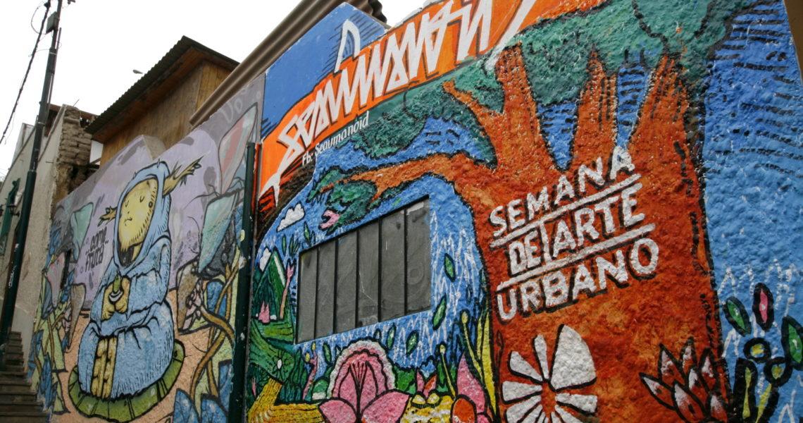 граффити Лимы