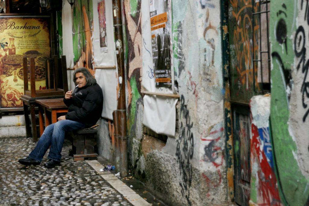 граффити Сараево