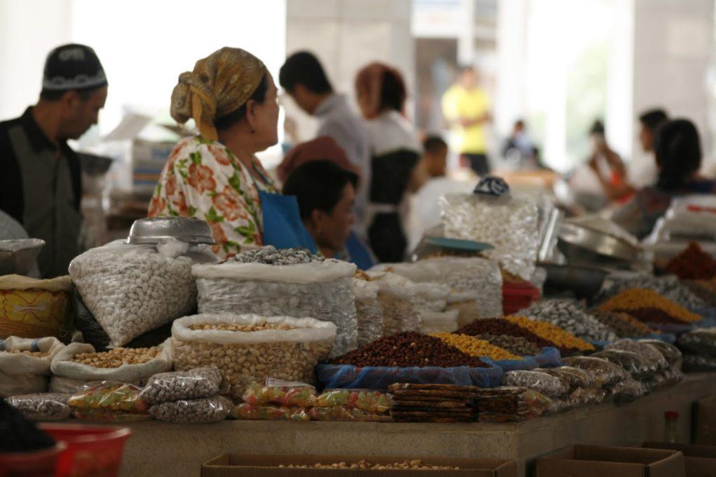 рынок Самарканда