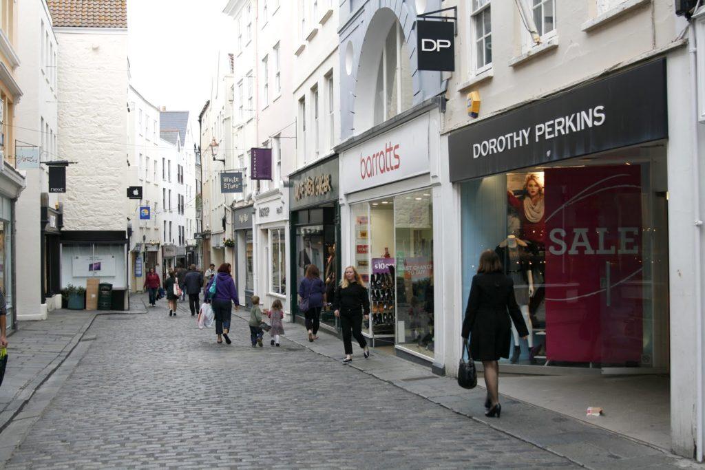 шопинг Нормандские острова