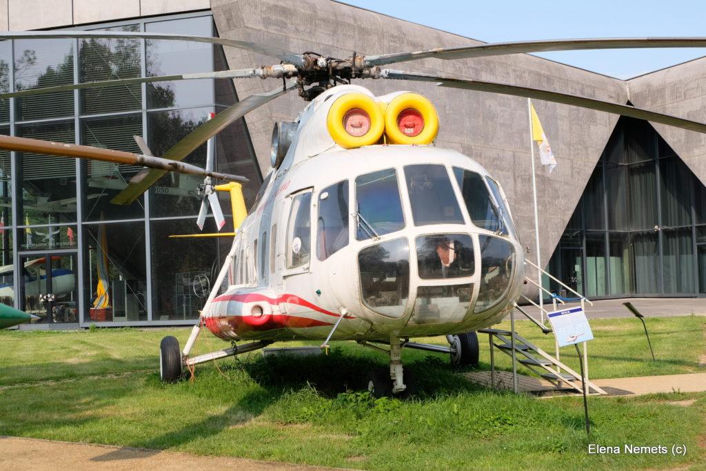 вертолет музей