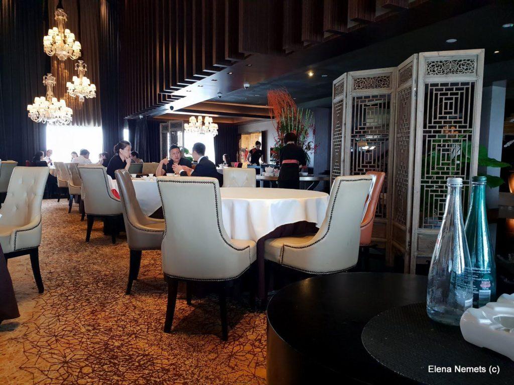Мишленовский ресторан в Сингапуре