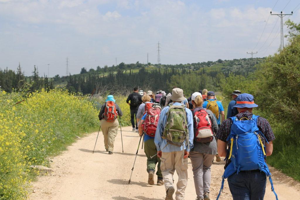 тропа паломников Израиль