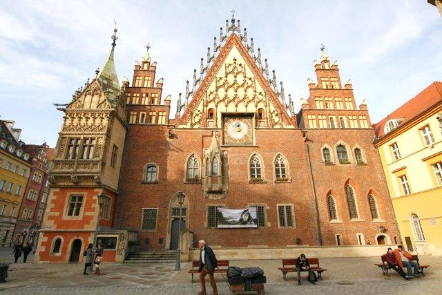 ратуша Вроцлав