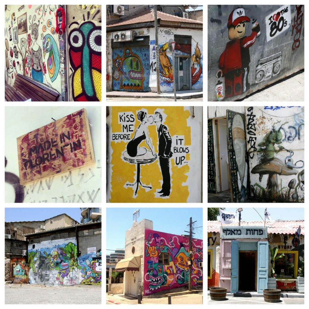graffiti, Tel Aviv, Florentine, bitemojo