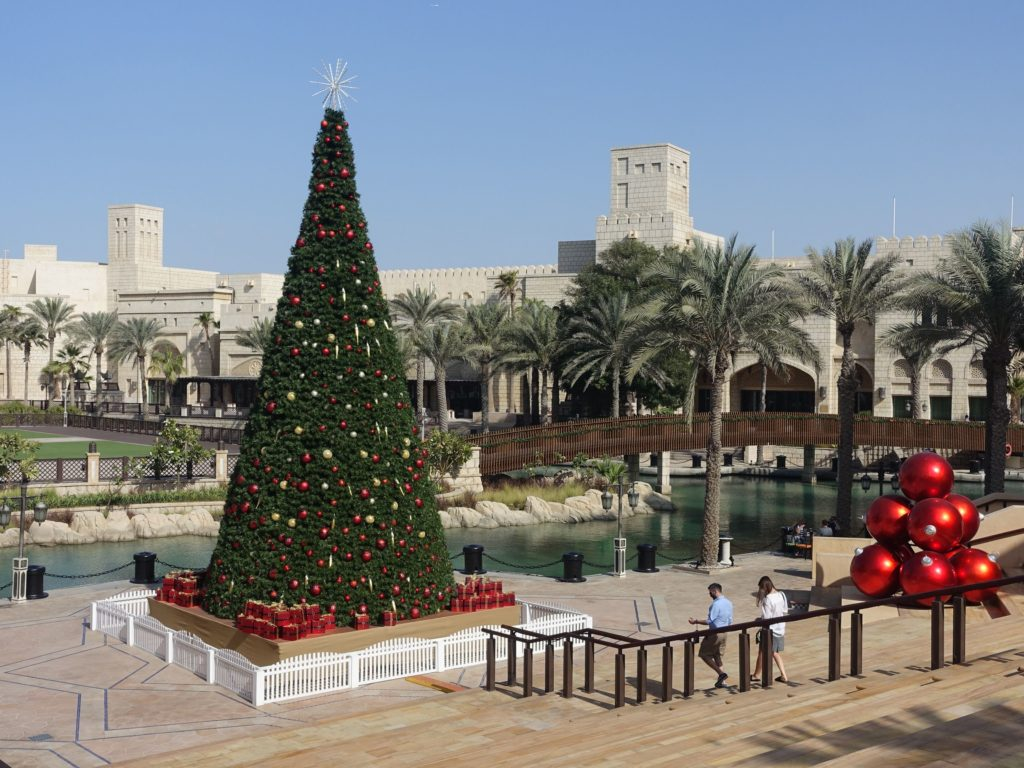 Дубай зимой