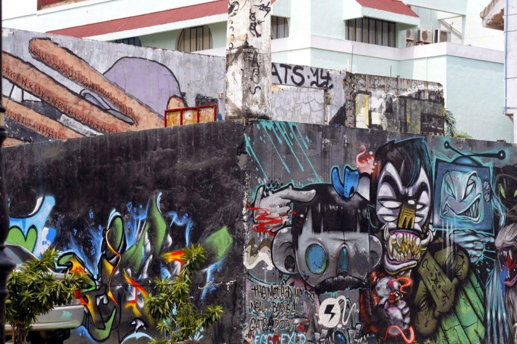 Граффити Манила