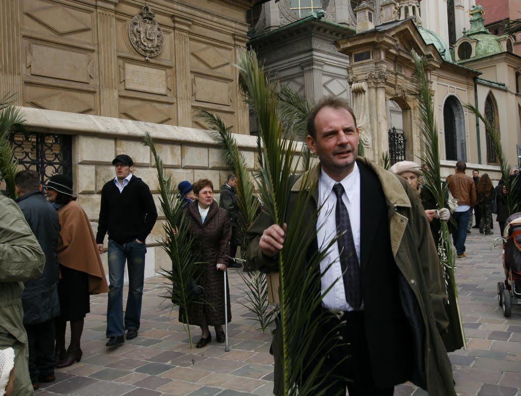 Пальмовая ветвь Пасха