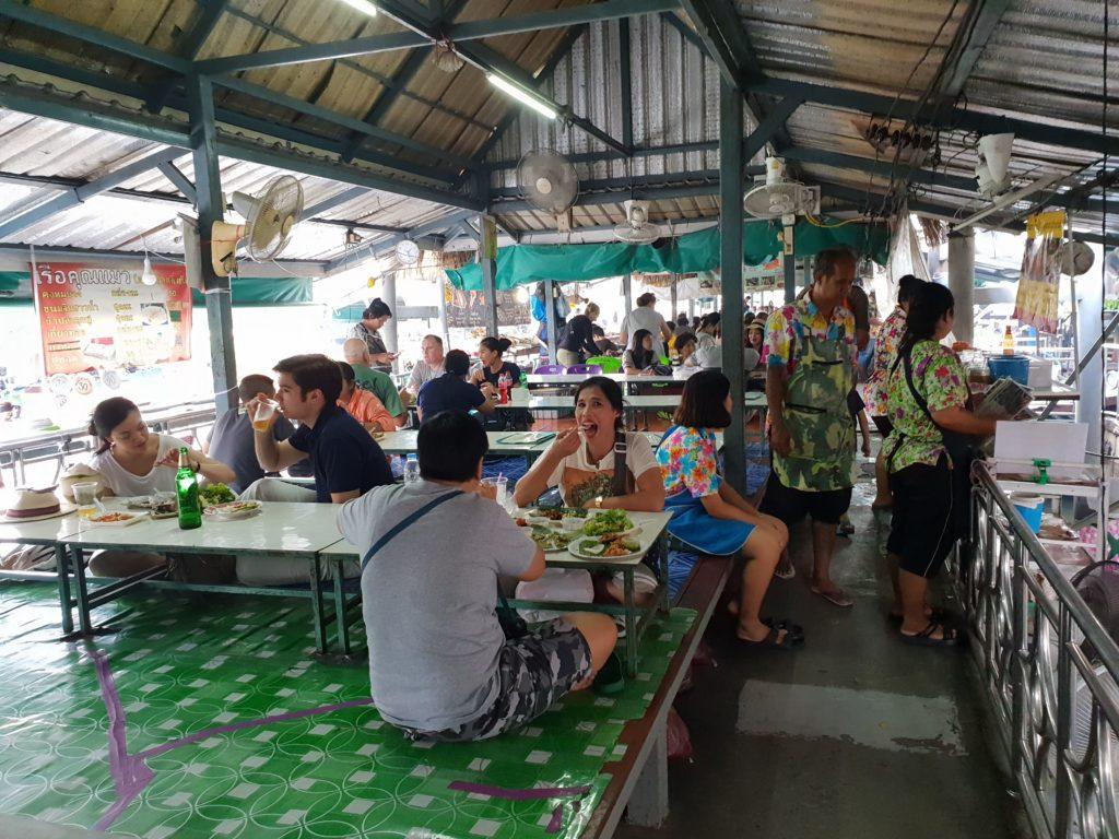 плавучий рынок Бангкок