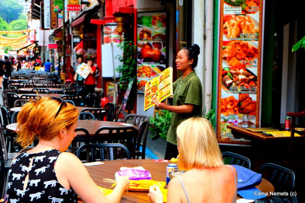китайская еда Сингапур