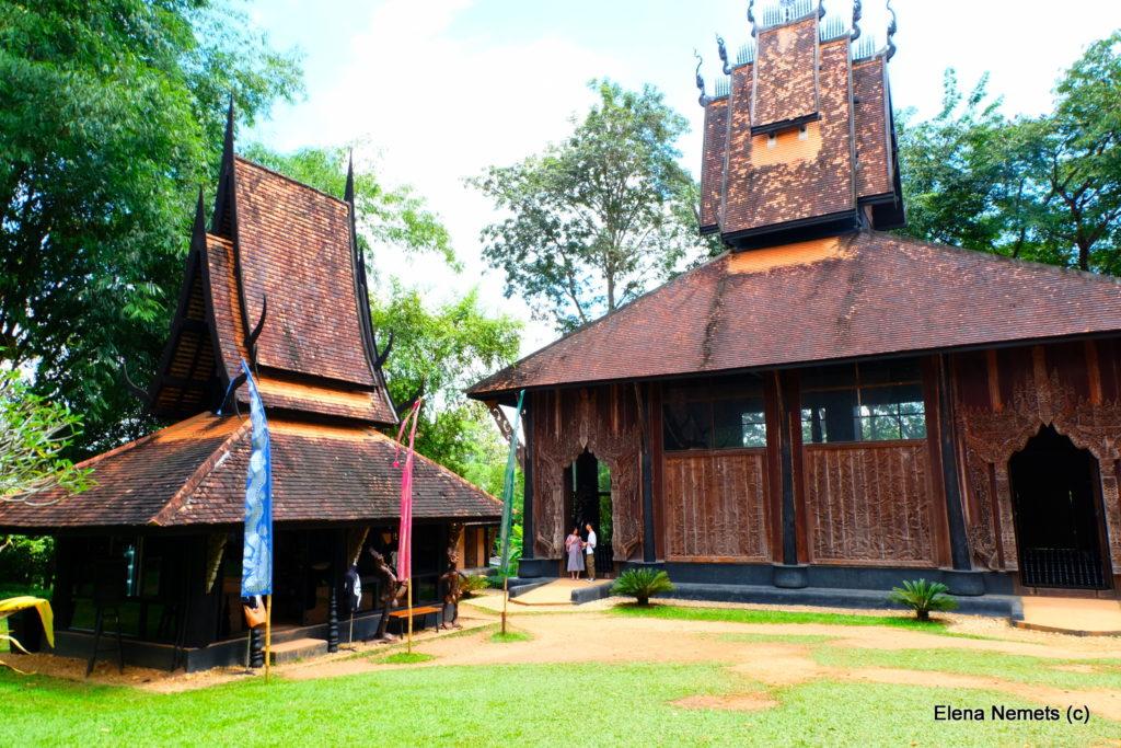 черные дома Таиланд