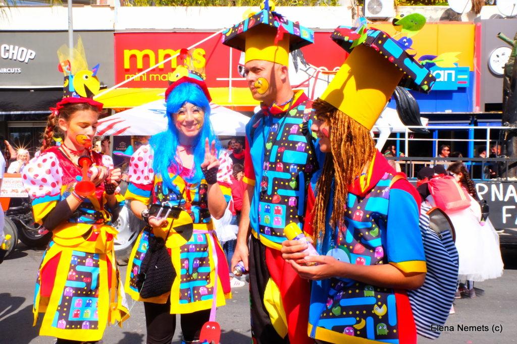 карнавал Кипр