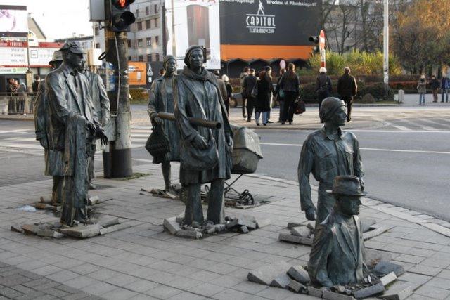 памятник переход вроцлав